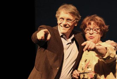 Daniel Pennac et Florence Cestac dans Un amour exemplaire