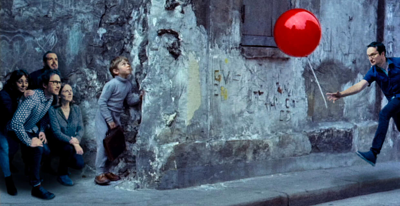 Image du film Le ballon rouge d'Albert Lamorisse