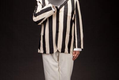Patrice Thibaud livre un hommage au corps sportif en mimes