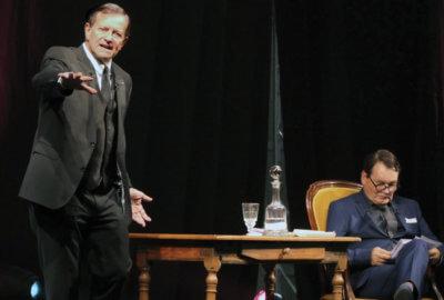 Francis Huster et Yves Le Moign dans Molière