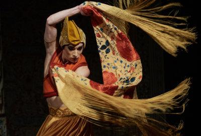 François Chaignaud en danseur flamenco dans Romances Inciertos