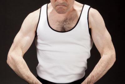 Philippe Leygnac dans le spectacle de mime Fair-Play
