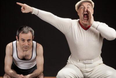 Patrice Thibaud et Philippe Leygnac enchaînent les gags sur le monde du sport