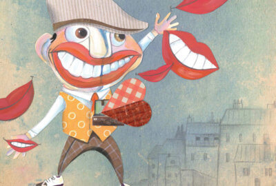 Boum-Boum distribue les sourires rangés dans son coeur valise