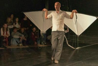 Julien Candy dans Le cirque Piètre