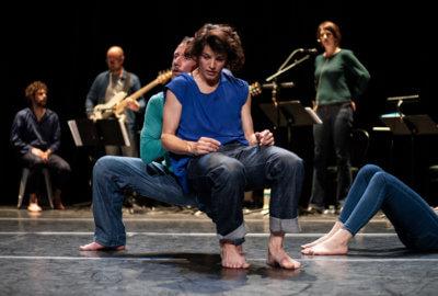 La compagnie Vilcanota - Bruno Pradet dans la pièce TumulTe